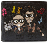 Dolce & Gabbana Boombox Leather Bifold Wallet