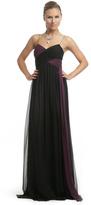 Robert Rodriguez Bicolor Twist Gown
