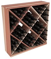 Wine Racks America wood 82 Bottle Solid Diamond Cube. 13 Stains to Choose From!