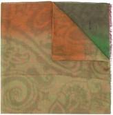 Etro tie-dye linen scarf
