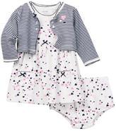 Little Me Hearts Dress & Bloomer Set (Baby Girls)