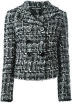 Dolce & Gabbana tweed jacket - women - Cotton/Acrylic/Polyamide/Wool - 44