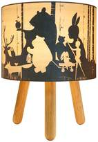 Micky & Stevie Wild Imagination Table Lamp, Timber