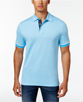 Club Room Men's Stellar Contrast-Trim Polo, Only at Macy's