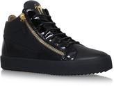 Giuseppe Zanotti Mid-Top Leather Sneakers