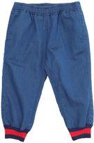 Gucci Denim Effect Light Cotton Sweatpants