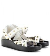 Balenciaga Studded leather sandals