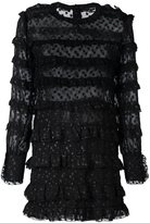 Isabel Marant ruched open panel dress