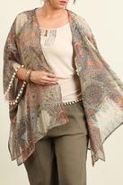 Umgee USA Sheer Printed Kimono