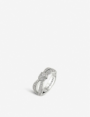 Chaumet Liens Seduction 18ct white-gold and diamond ring
