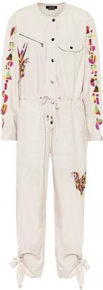 Isabel Marant Gigi jacquard cotton jumpsuit