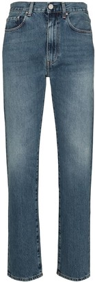 Totême Studio high-waisted straight-leg jeans