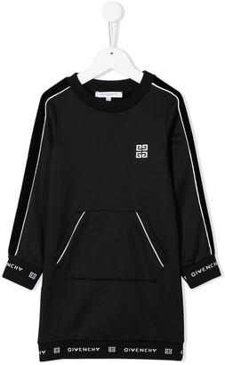 Givenchy Kids logo jersey dress