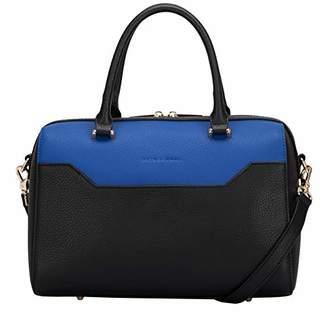 Smith & Canova Womens Twin Strap Grab/cross Body Bag Shoulder Bag
