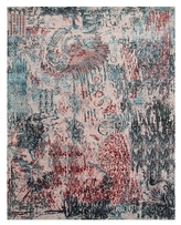 Unstring Hand-Knotted Silk Rug
