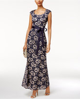 R & M Richards Lace A-Line Gown