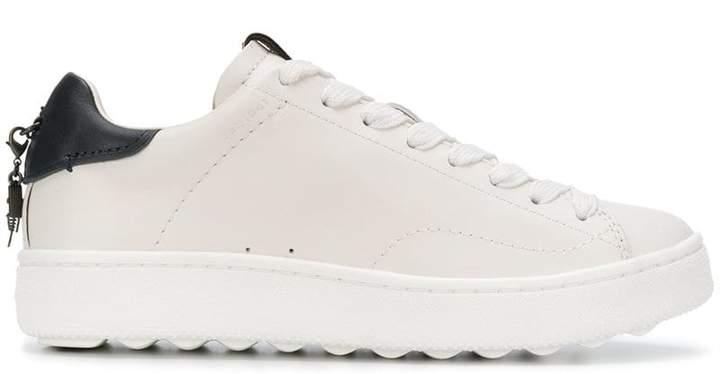 Coach platform lace-up sneakers