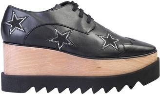 Stella McCartney Elyse Crystal Star Embellished Platform Shoes