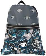 Kenzo Eye patch drawstring backpack
