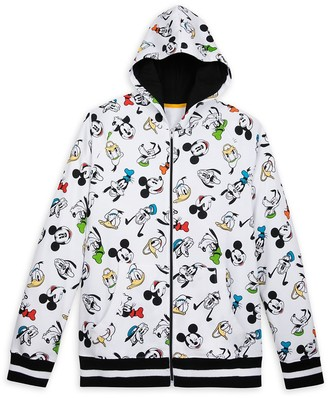 Disney Mickey Mouse and Friends Zip-Up Hoodie for Men