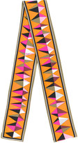 Emilio Pucci narrow printed scarf