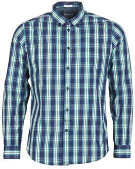 Pepe Jeans CHANDLER men's Long sleeved Shirt in Blue