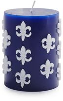 Sur La Table Fleur De Lys Pillar Candle