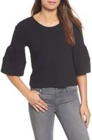 Women's Caslon Ruffle Sleeve Top