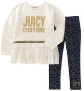 Juicy Couture Crewneck Top & Leggings Set