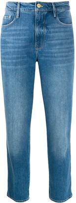 Frame High Waisted Jeans