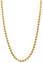 "Alex Woo Beaded Chain Collar Necklace in 14k Gold (Available in 16"" and 18"")"