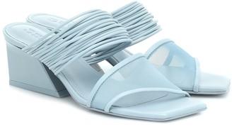 Mercedes Castillo Evalyn leather sandals
