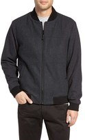 Michael Kors Men's Wool Blend Bomber Jacket