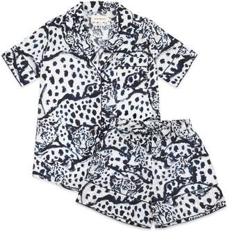 Moon + Mellow Leopard Short Set - 100% Organic Cotton