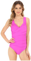 Athena Cabana Solids Soft Cup One-Piece
