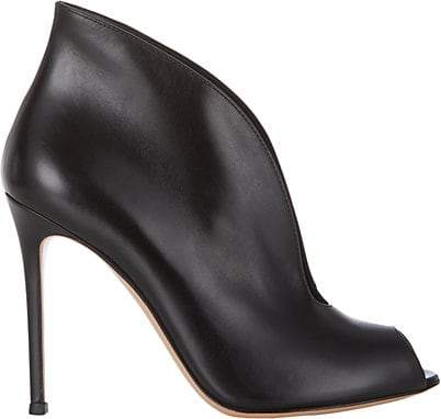 Gianvito Rossi Women's Vamp Ankle Booties - Black