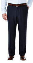 Haggar Big & Tall Suit Separates Pant - Tic Weave - Straight Fit
