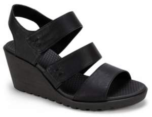 White Mountain Heel Strap Sandals For Women ShopStyle