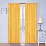 Eclipse Curtains Eclipse Kids Microfiber Blackout Window Curtain Panel, 42 x 84-Inch, Mimosa
