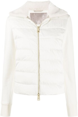 Herno Down-Feather Zip-Up Jacket
