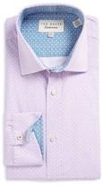 Ted Baker Men's Tucker Trim Fit Dress Shirt