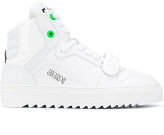 F_WD Flat High Top Sneakers