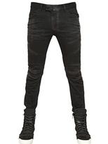 Balmain 17cm Basic Denim Biker Jeans