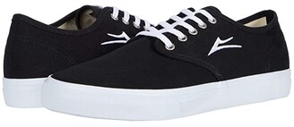 Lakai Oxford (Black Canvas) Men's Shoes