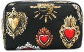 Dolce & Gabbana Sacred Heart printed pouch