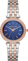 Michael Kors MK3651 Darci rose-gold pavé watch