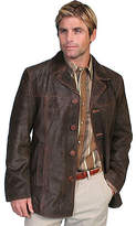 Scully 3/4 Length Leather Car Coat 19 (Men's)