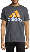 adidas Short-Sleeve Adilogo Tee