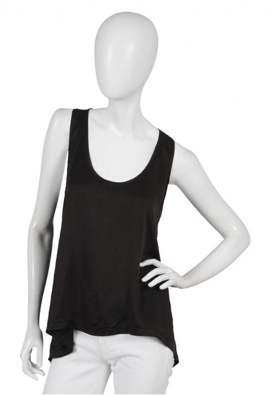 Wilt Boyfriend Tank in Black -