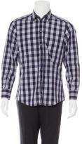 Dolce & Gabbana Grid Check Woven Shirt